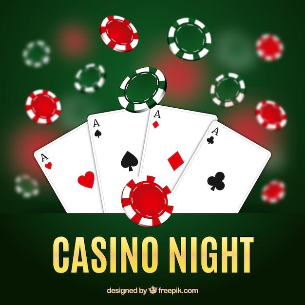 Casino night background