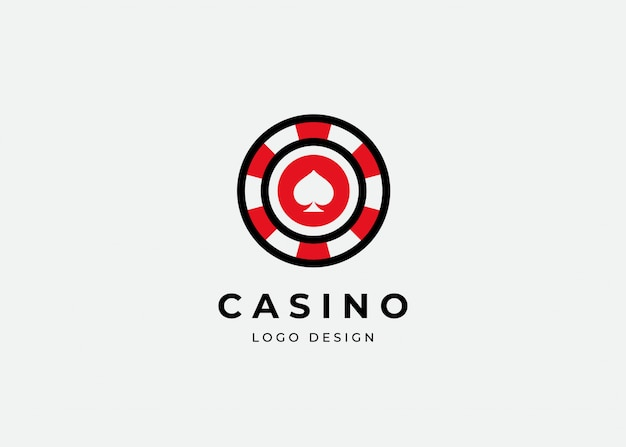 Premium Vector Casino Poker Logo Design Template