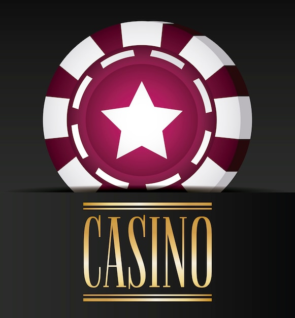 Casino related icons Free Vector