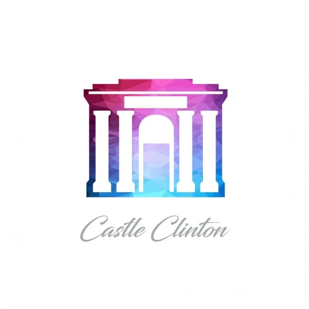 Castle clinton, polygonal