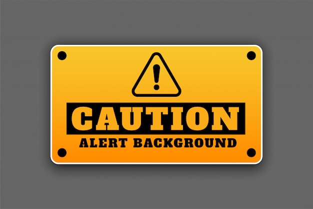 注意警告背景看板注意看板デザイン 無料ベクター