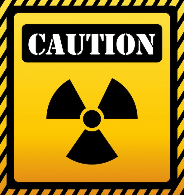 Caution design. illuistration Premium Vector