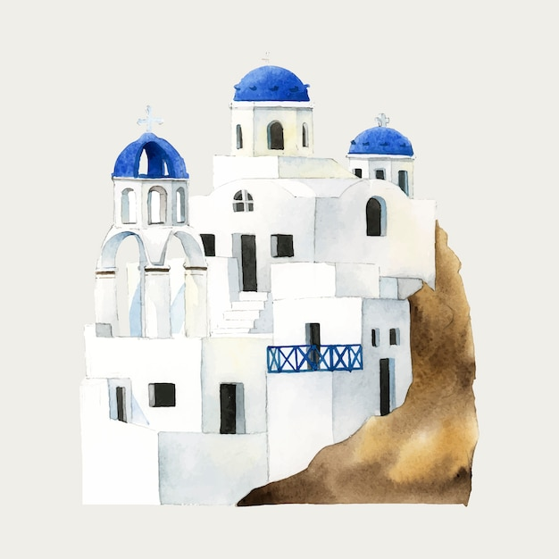 Cave houses Free Vector