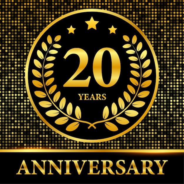 Шаблон партии событий празднования годовщины. стоковая иллюстрация. Premium векторы