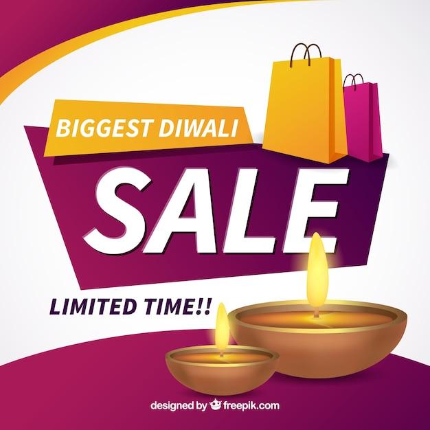 Celebration background of diwali