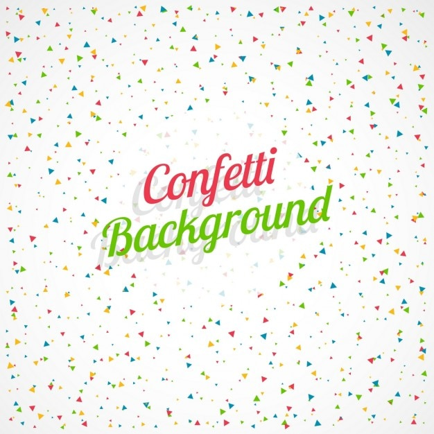 celebration background with colorful confetti vector | free download