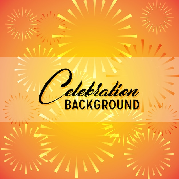 Celebration Background Free Vector