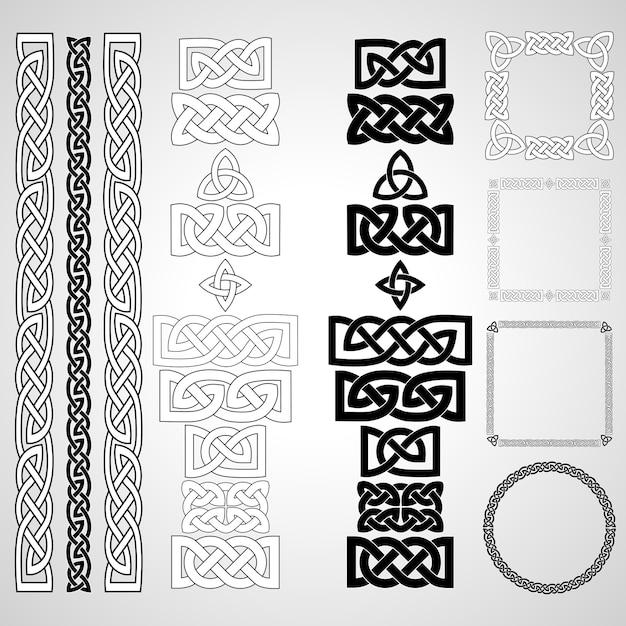 Celtic knots Premium Vector