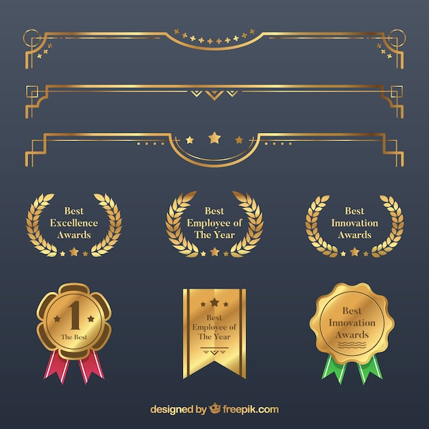 Recognition Award Vectors, Photos and PSD files | Free ...