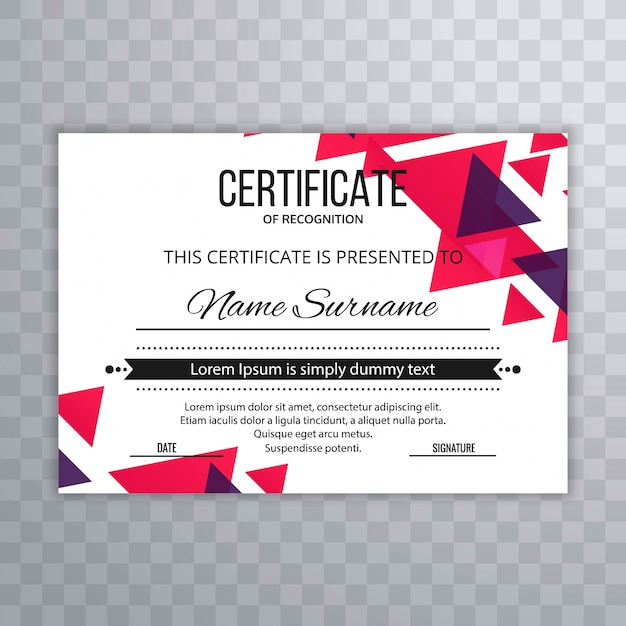 Certificate template vectors photos and psd files free download certificate premium template awards diploma colorful vector illustration yelopaper Image collections