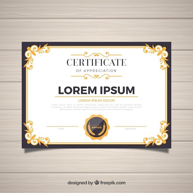Certificate Border Vectors, Photos and PSD files | Free Download