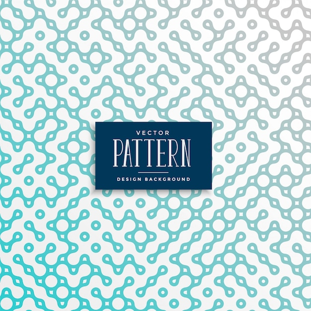 Chain link style truchet pattern background Free Vector