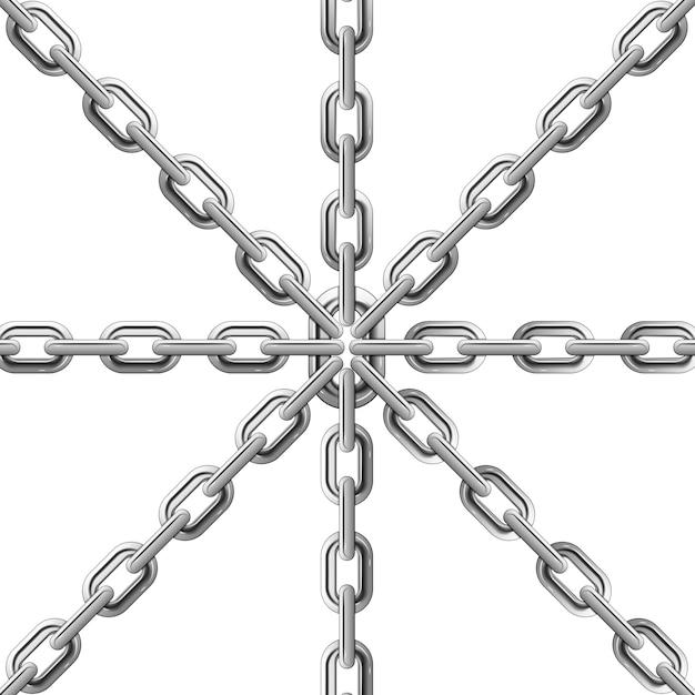 Chains Premium Vector