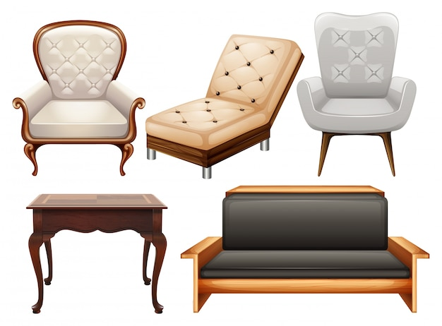 Chairs Free Vector