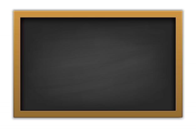 Chalkboard school, education blackboard Premium Vector