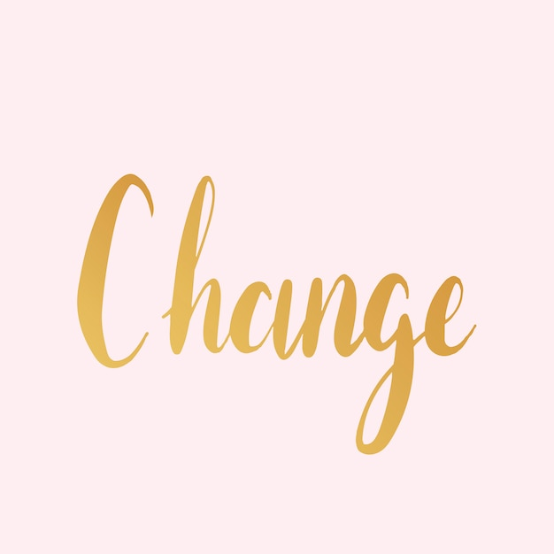 Change text typography style vector Free Vector