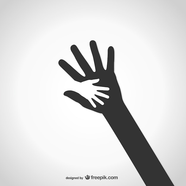 Charity hands Vector | Free Download