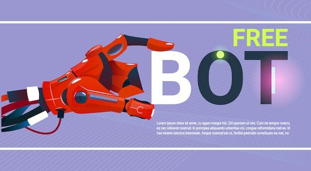 Chat bot бесплатный робот виртуальная помощь веб-сайта или мобильных приложений, artificial intelligence co Premium векторы