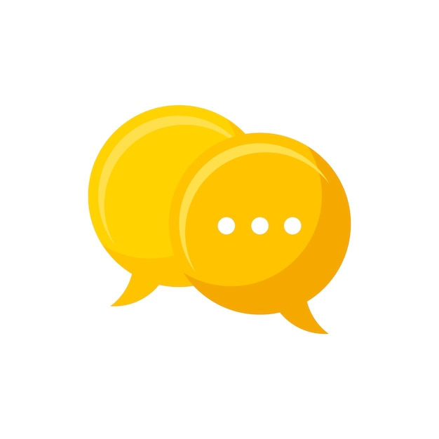 Chat bubble Free Vector