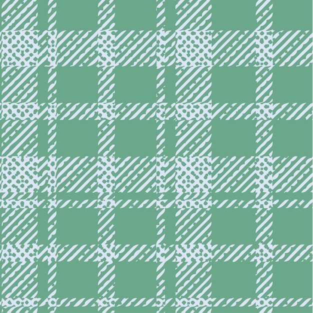Check design pattern print. Premium Vector
