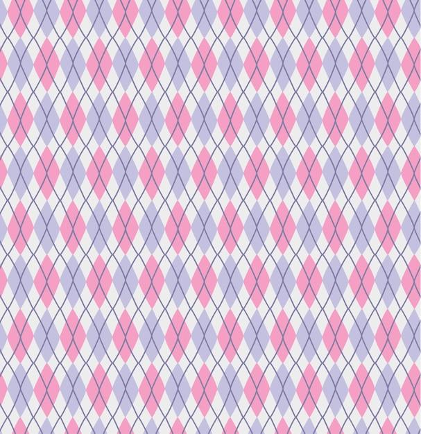 Check geometric pattern print Premium Vector