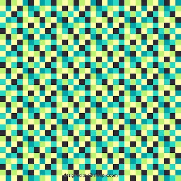 Checkered Colorful Pattern Vector Premium Download