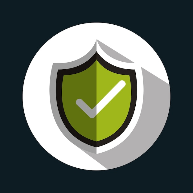 Символ checkmark ok Premium векторы