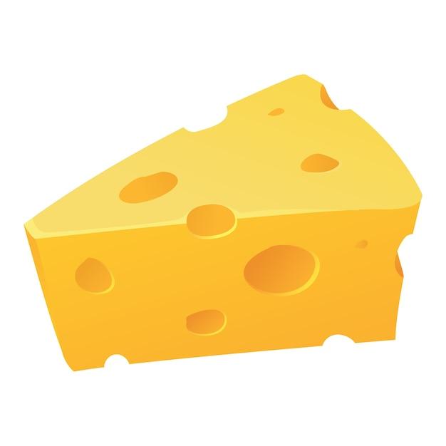 Значок сыра Premium векторы