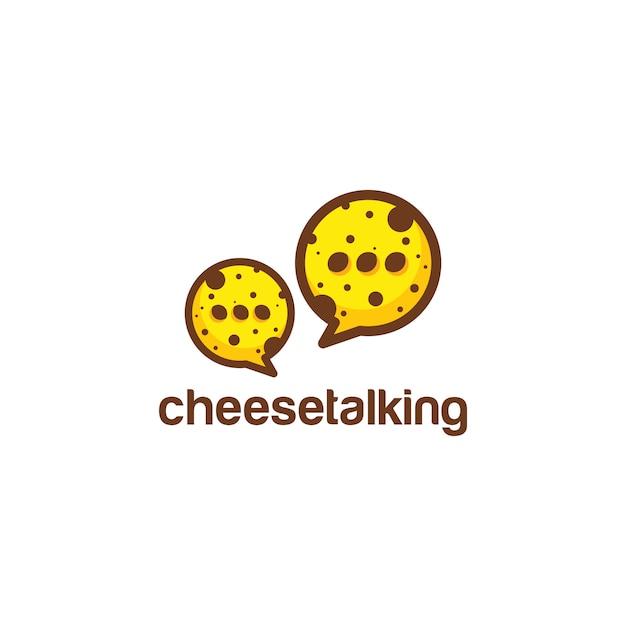 Cheese logo Premium Vector
