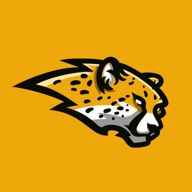 premium vector cheetah sport gaming mascot logo template https www freepik com profile preagreement getstarted 2826823