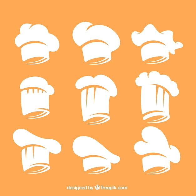 7ee03fd2 Chef hat collection | Stock Images Page | Everypixel