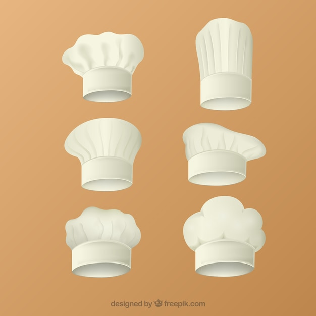 3ac0dd96 Chef hats collection Vector | Premium Download
