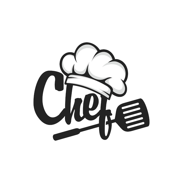Chef logo vector Premium Vector