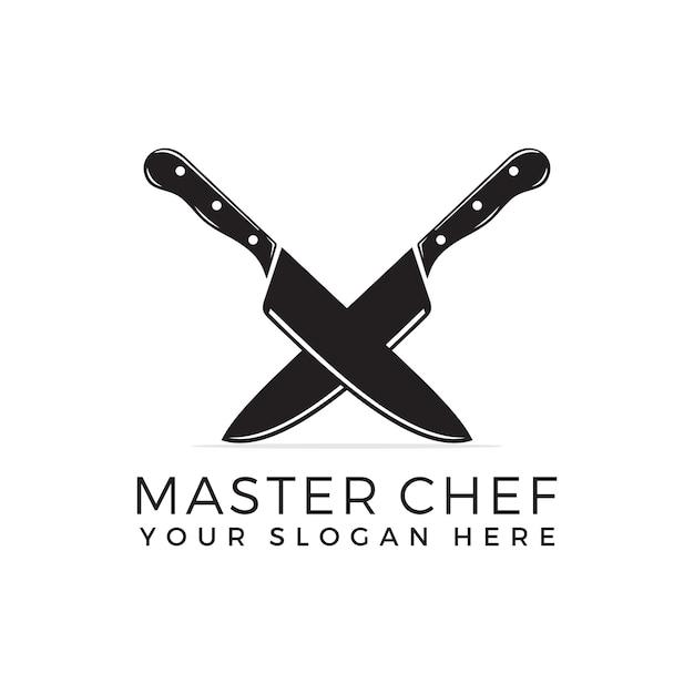 Логотип chef Premium векторы