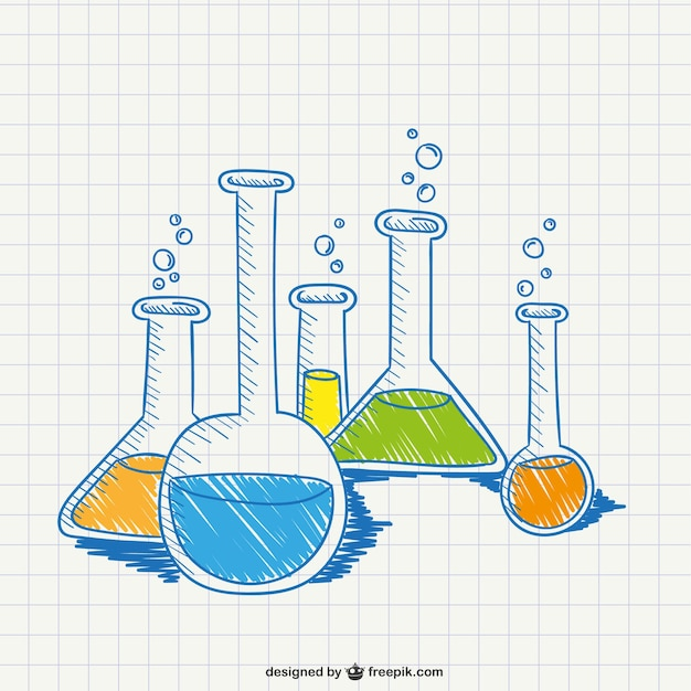 Chemistry Conceptual Drawing_761071 on Draw And Write