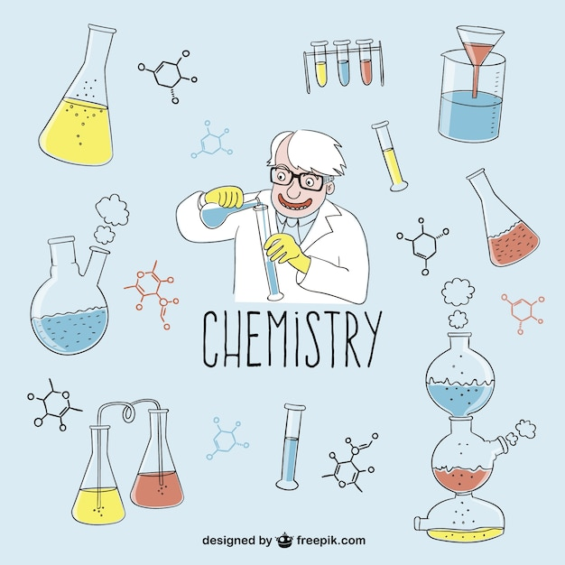 Chemistry Lab Drawing at GetDrawings | Free download |Lab Chemist Drawings