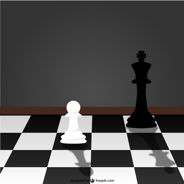 Chess game vector Free Vector
