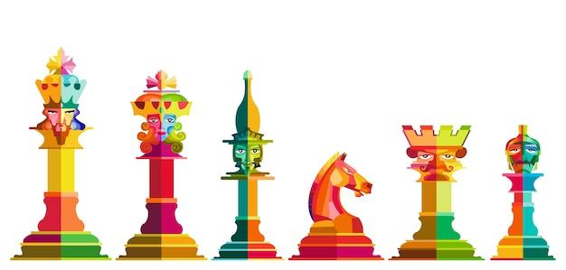 Chess Piece Vector Vector Premium Download