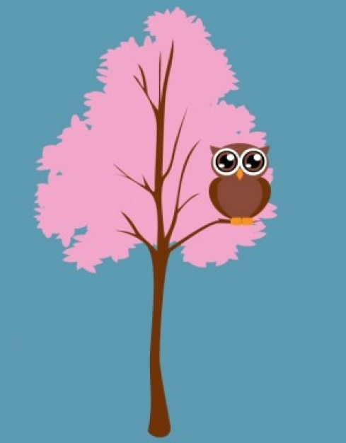 Chibi Owl Cartoon On Pink Tree Vector Stock Images Page Everypixel Download in under 30 seconds. chibi owl cartoon on pink tree vector