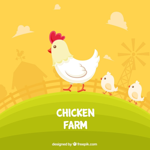 Hen Vectors Photos And Psd Files Free Download