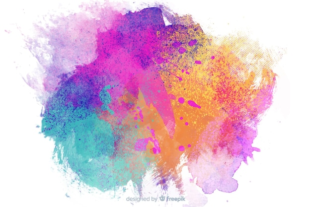 Childish style background with  abstract theme Free Vector