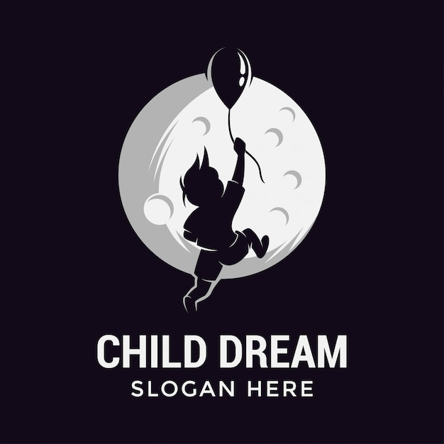Children dream Premium Vector