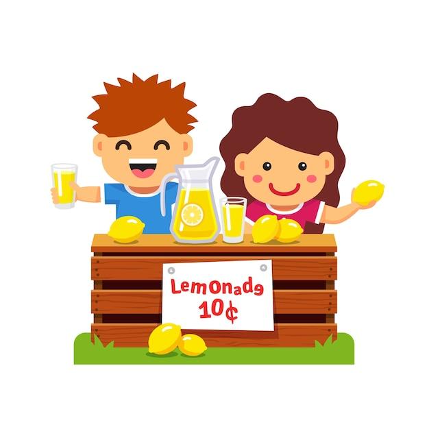 Children making money. Young\ entrepreneur.