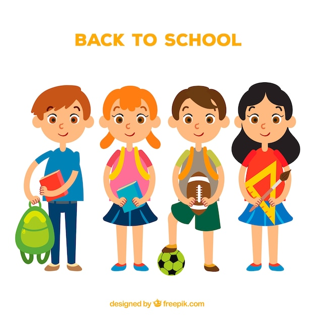 Children prepared for school