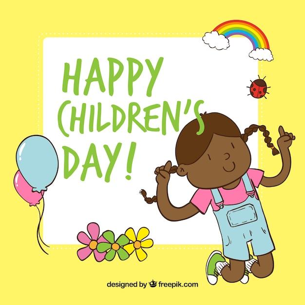 Childrens day greeting cartoon vector premium download childrens day greeting cartoon premium vector m4hsunfo