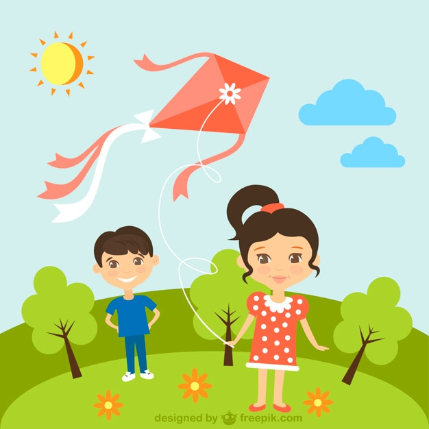 sunny day essay by children