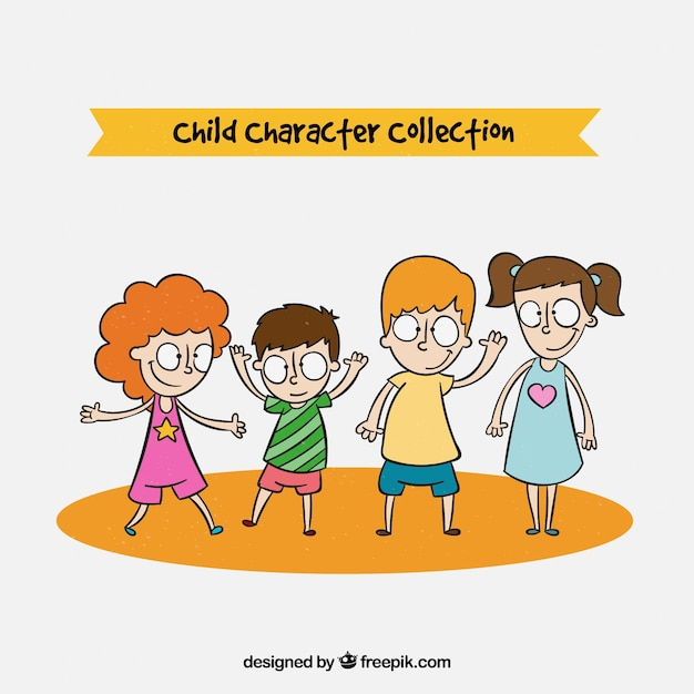 Childrens day vector collection