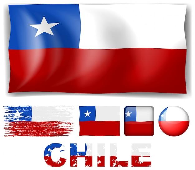 Chile illustration Free Vector