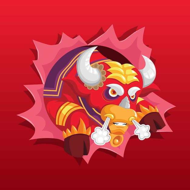Image result for angry metal ox 2021