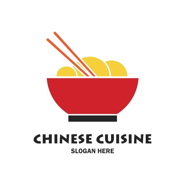 Chinese restaurant logo and emblem Premium Vector
